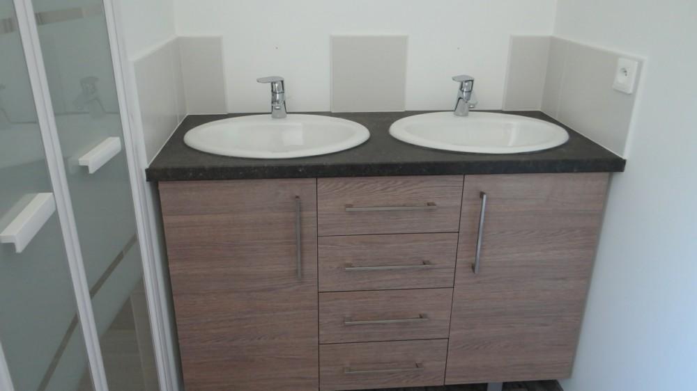 Fabrications sur mesure menuiserie mouquet pr aux for Meuble lavabo sur mesure