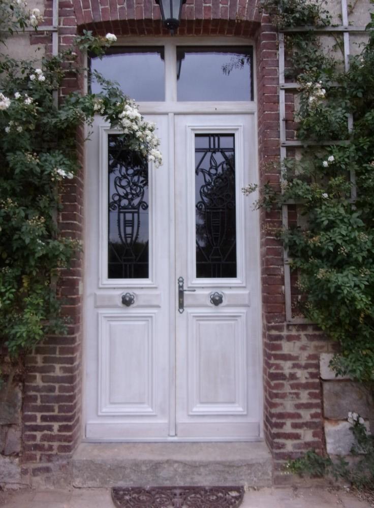 Fabrication d une porte en bois for Pose d une porte d entree en bois