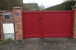 portail-aluminium-rouge