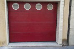 porte-de-garage sectionnelle